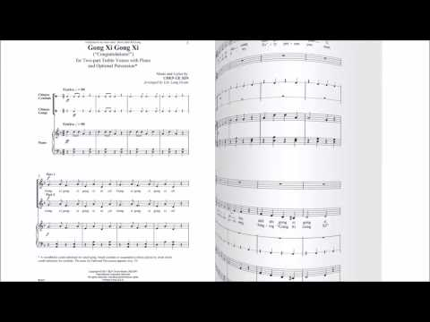 Gong Xi Gong Xi (BL941) Arr. by Lily Grant