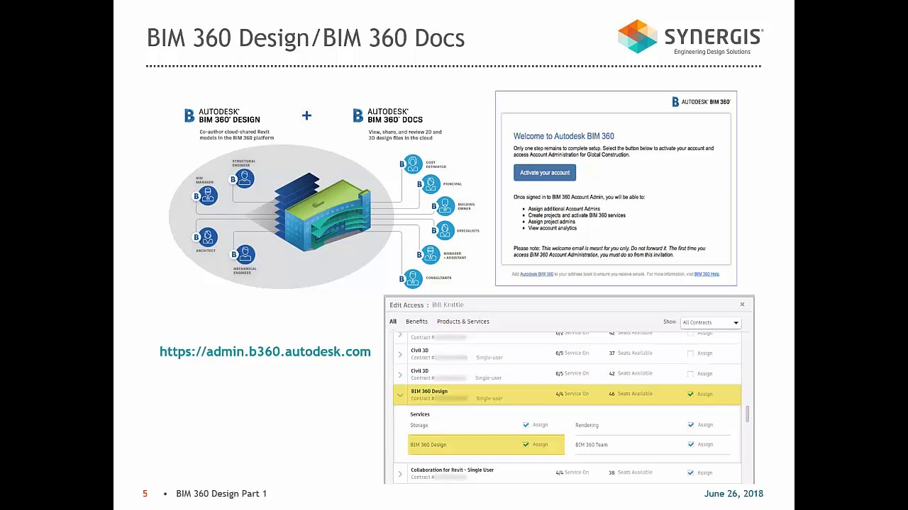 The Next Generation of BIM 360, Part 1: Account and Project Setup