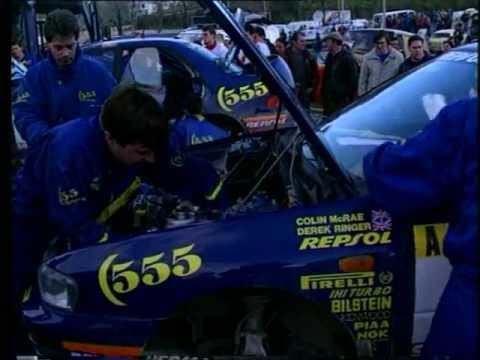 Subaru Impreza WRC GC8 Old School Rally Video (Part 1)