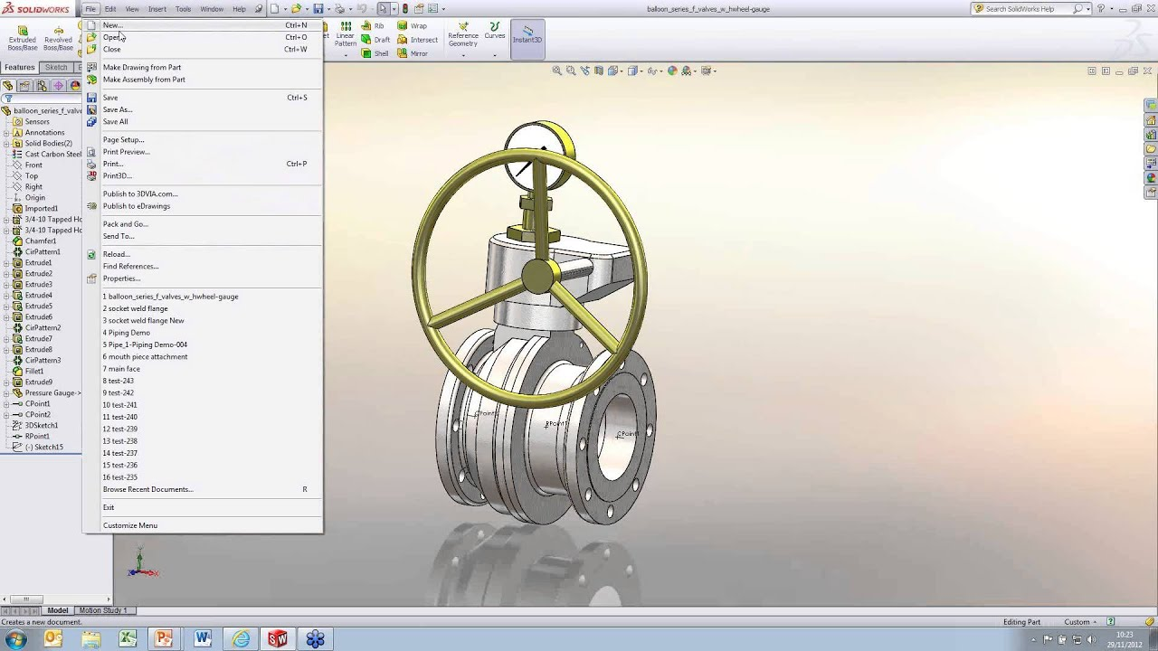 routing and piping library setup in solidworks youtube piping and instrumentation diagram solidworks piping diagram solidworks #14