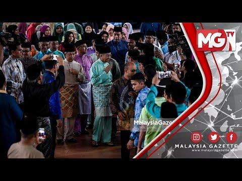 Tun Dr Mahathir, Muhyiddin Yassin Iftar Bersama Warga PDRM
