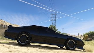GTA 5 PC Mods Knight Rider KITT Texture Mod