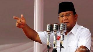 Video Prabowo Pastikan Menang di Pilpres 2019, 'Kalau Kalah Indonesia Akan Punah'