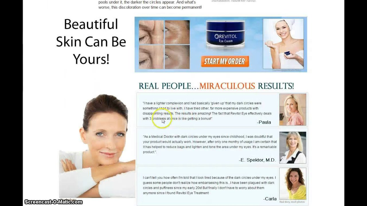 Revitol Eye Cream Review Is It Worth It Youtube