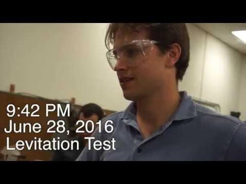 Texas Guadaloop - Levitation Test #1