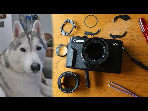 How to Clean Dust from the Canon G7X Mark II WITHOUT Drilling
