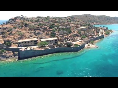 "Spinalonga / Flying Over  "" The Island "" with Drone!! / Crete/ Greece"