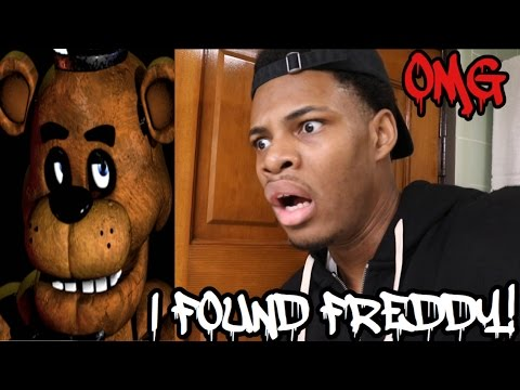 Download HUNTING FOR FREDDY FAZBEAR I FOUND HIM!!!!! Pictures