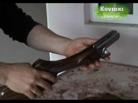 Χειροποίητο Κυνηγετικό Κοντάκι kontaki.gr (4 από 4)