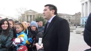 Відповідь віцепрем'єра АР Крим Темиргалієва на вимоги Меджлісу 23.02.14