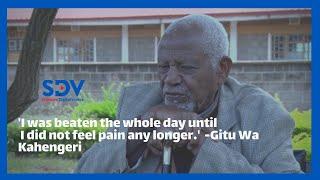 \'I was beaten the whole day until I did not feel pain any longer.\' Mau Mau Fighter,Gitu Wa Kahengeri