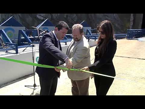 Eco Wave Power- Gibraltar power station opening event