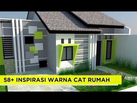 58 Kombinasi Warna Cat Rumah Desain Minimalis Terbaru Untuk
