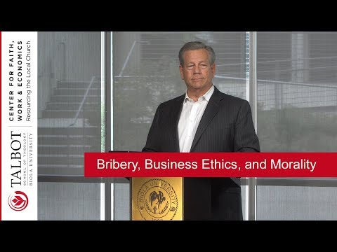 Bribery, Business Ethics, and Morality