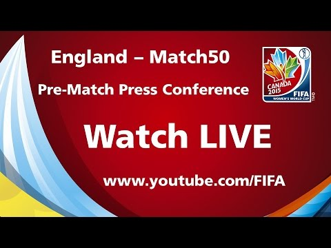 England - Match 50 - Pre-Match Press Conference