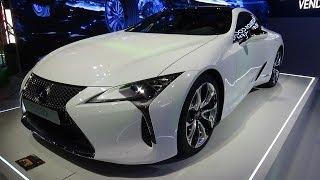 2017 Lexus LC 500h - Exterior and Interior - Automobile Barcelona 2017