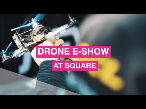 Brussels Drone e-Show 2017