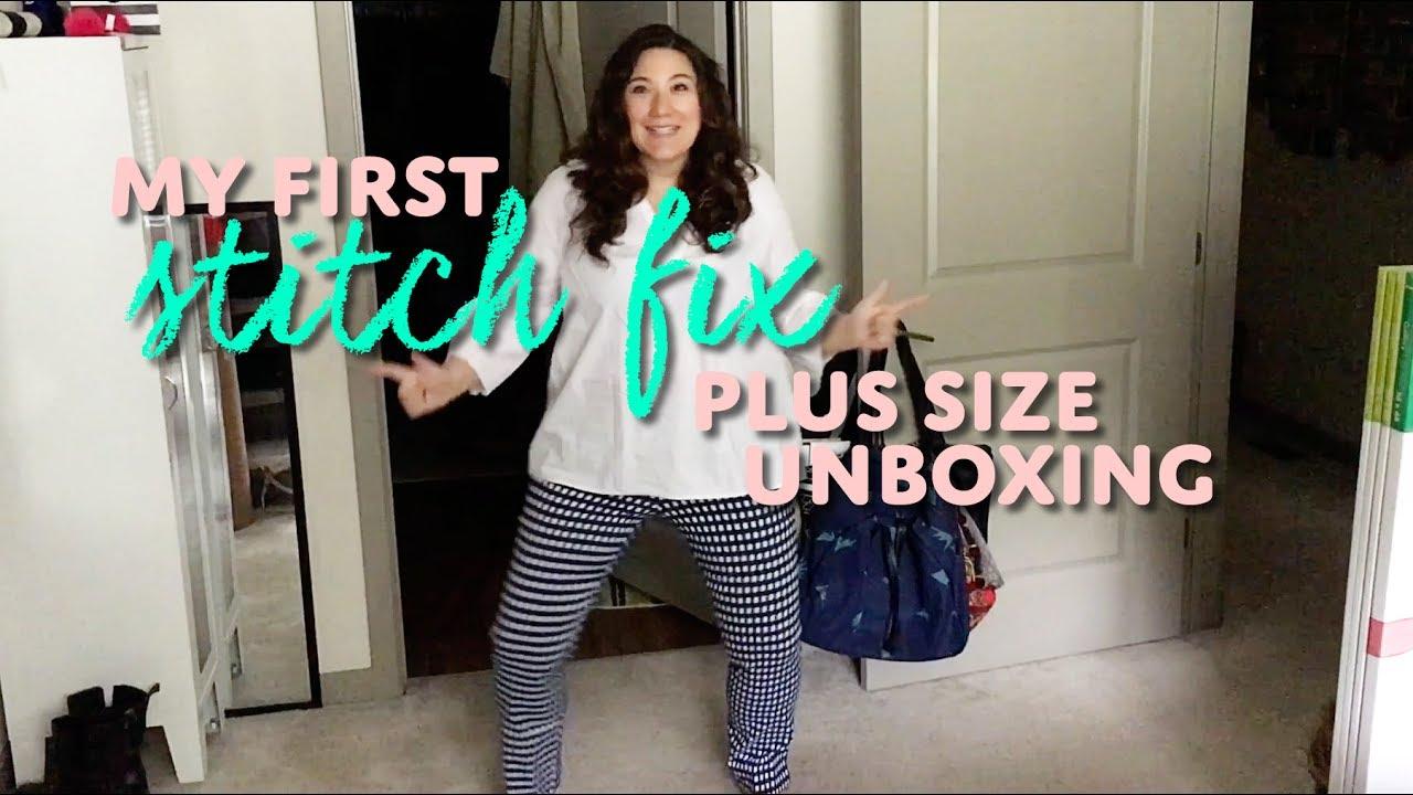 2c0613520d9 Stitch Fix Plus Size Unboxing - YouTube