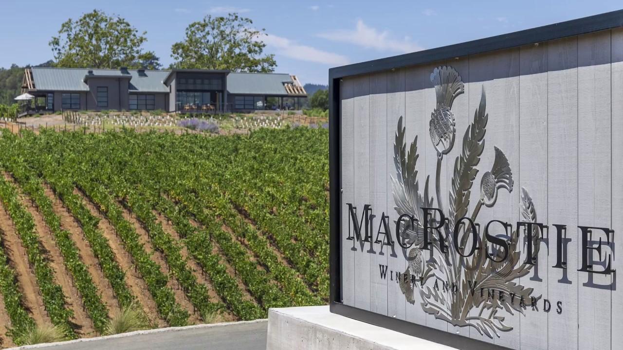 Macrostie Winery Amp Vineyard Wine Tasting Near Me Youtube