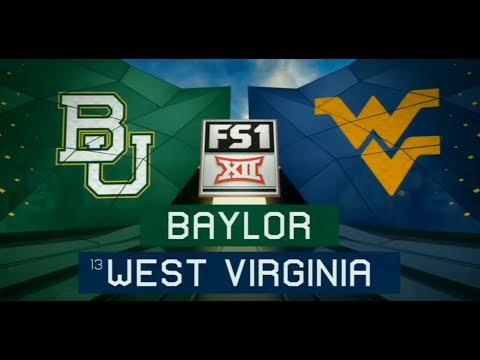 2018 CFB - #13 WVU vs Baylor