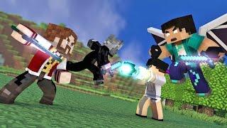 Minecraft: O FILME #24 - A GUERRA!!   (Crazy Craft 3.0)