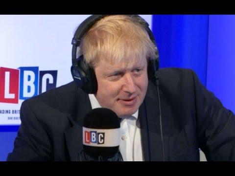 "Boris Johnson and Chuka Umunna tell each other to ""man up"""