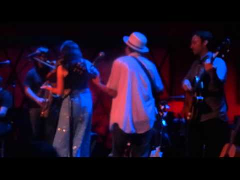 """""""The Ghost of Richard Manuel"""" - Mike & Ruthy Band - Rockwood Music Hall -"""