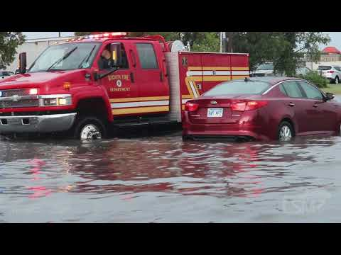 07-26-2021 Wichita, KS - Flooding - Cars Stalled - Water Rescues
