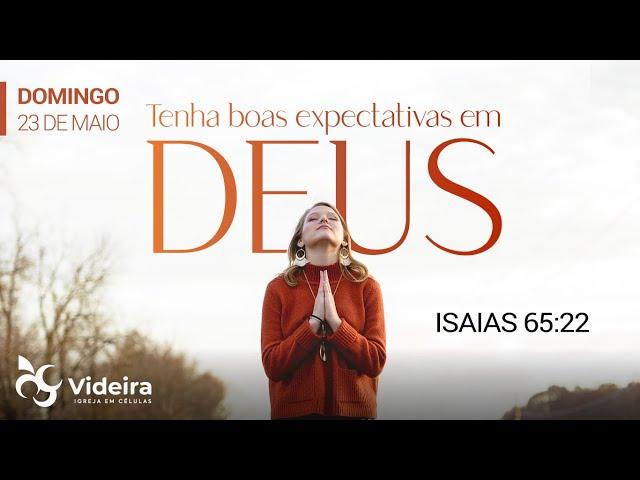 Culto Videira Jundiaí - 23/05/2021