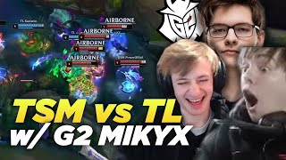 LS | TSM vs TL Analysis | WATCHING LCS PLAYOFFS WITH G2 MIKYX ft. Nemesis
