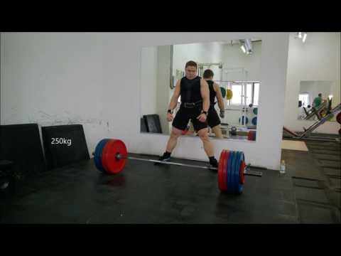 Deadlift Workout in Moscow