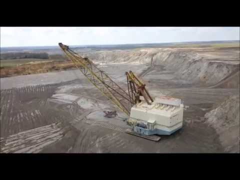 Marion 8750 Dragline, Jewett Lignite Mine