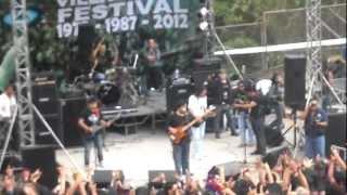 HD *METAMORFOSIS - Sin Sentencia y Fuga Social* Concha Acustica 2012 Villaflora / Heavy Hard Rock