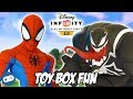 Spiderman Disney Infinity 3.0 Toy Box Fun Gameplay