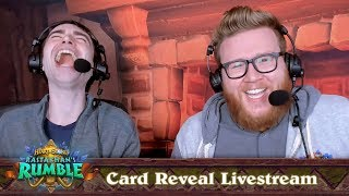 Rastakhan's Rumble Card Reveal Livestream | Hearthstone