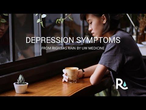 Depression symptoms can be subtle