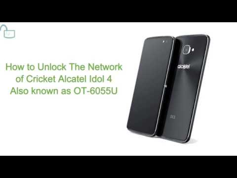 Alcatel Idol 4 Unlock Code Generator OT-6055U Use any sim card