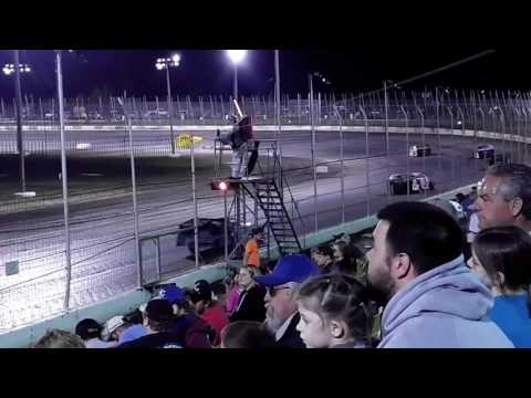 Lakeside Speedway E-Mod Feature April 14, 2017