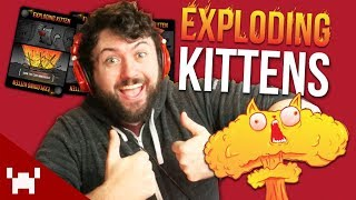 BAMBOOZLE YOUR FRIENDS!   Exploding Kittens Card Game w/ Ze, Chilled, GaLm, Smarty, & Shawn