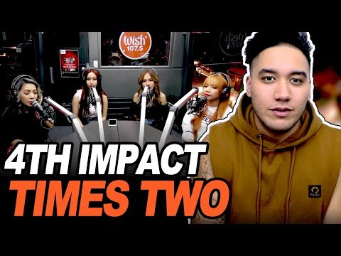"""4TH IMPACT performs """"Times Two"""" LIVE on Wish 107.5 Bus REACTION!!!"""