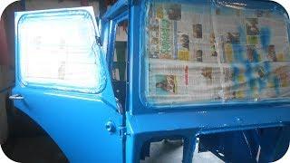 Покраска трактора. Восстановление трактора МТЗ. Кабина.