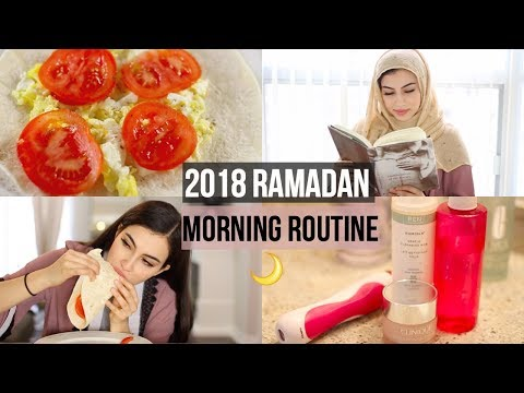 My 2018 Ramadan Morning Routine