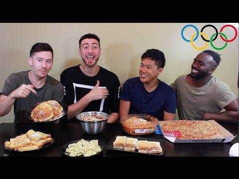 Michael Phelps Olympic Food Challenge | 12,000 Calories