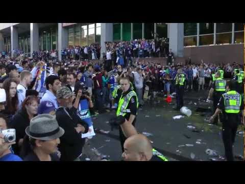 Vancouver Stanley Cup Riot Police Lose Control Of Crowd Georgia St