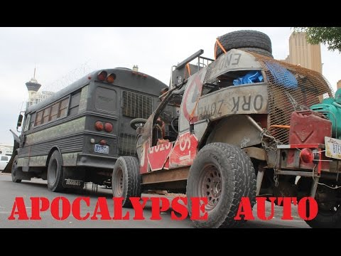 1100 mi. to Wasteland Weekend in the War Child Apocalypse Bus! APOCALYPSE AUTO ep.5