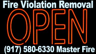 Call 917 580 6330 FDNY Fire Department Violations NYC Fire Code Violation Removal Dept. Buildings