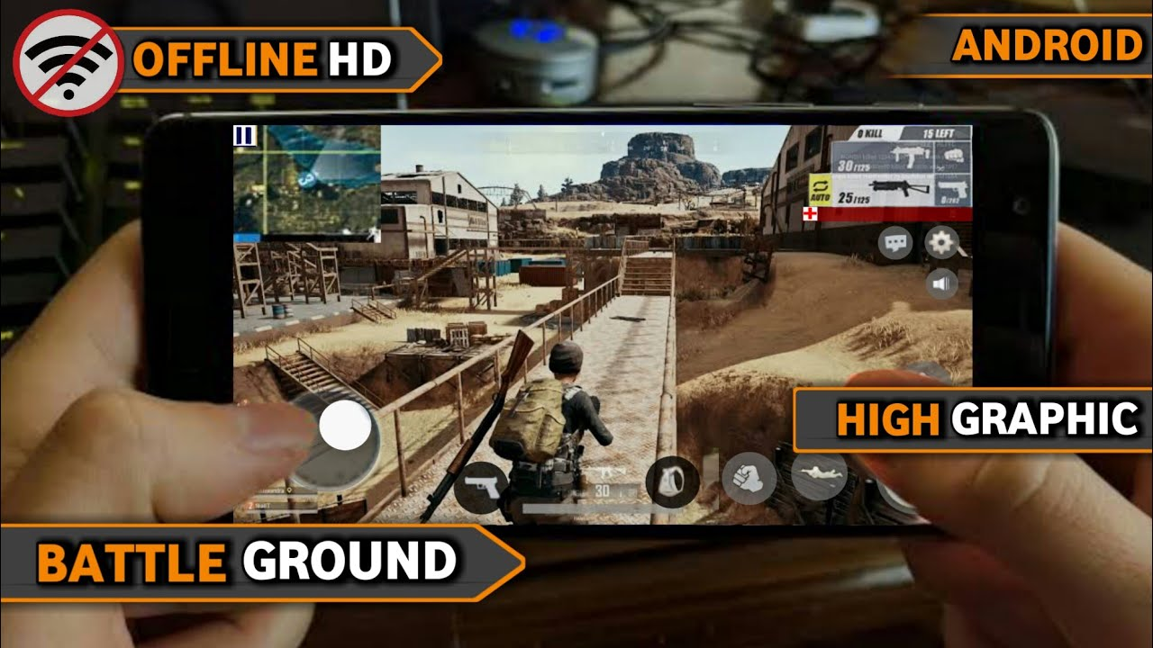 WOW!!!!: GAME BATTLE ROYALE OFFLINE GRAFIK HD DI ANDROID  #Smartphone #Android