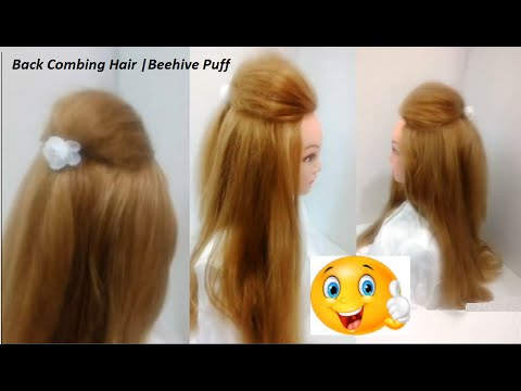 how to make hair puff style hairstyles for medium hair hair puff 3440