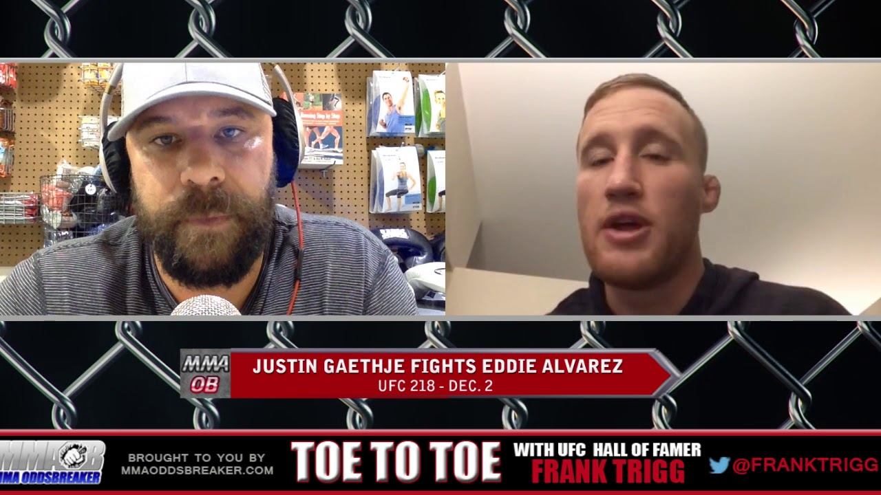 Frank Trigg pre-fight interview with UFC 218's Justin Gaethje