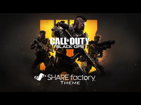 Call of Duty: Black Ops 4 SHAREfactory Theme